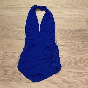Norma Kamali Vintage-Style bathing suit small NWOT